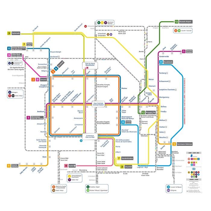 Metro De Bruselas Planos Líneas Horarios Tarifas Y Más